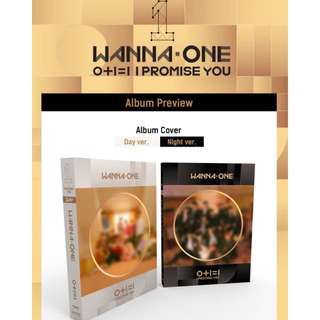 [Read Desc] [PRE ORDER ALBUM] WANNA ONE - Mini Album Vol.2 [0+1=1(I PROMISE YOU)]