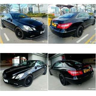 2010 Mercedes Benz E350 Coupe, Excellent Condition, Glass Roof, 玻璃天幕頂, 車極靚