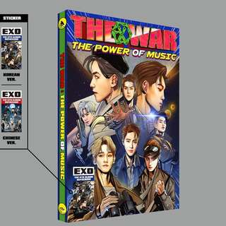 [SEALED]Exo The war Power chinese ver. album