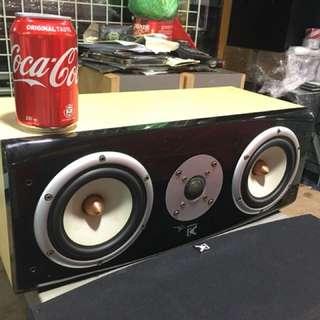 英國名廠Dynamic audio(DA)子彈式中置喇叭