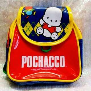 Sanrio 1997 絕版罕有 Pochacco PC狗背包