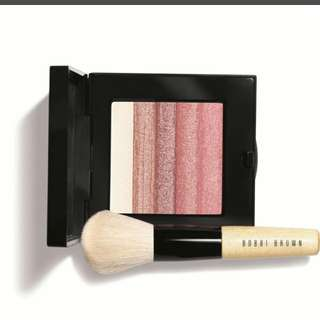 Bobbi Brown Rose Shimmer Brick Set (Handmade in Italy)