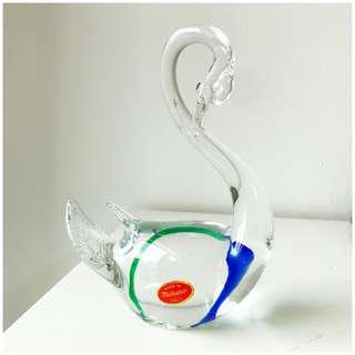 Murano Glass Swan