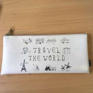 white Myuk Pencil Case