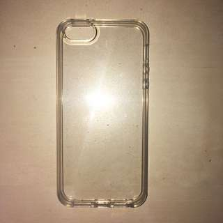 iphone 5/5S/SE clear silicone phone case