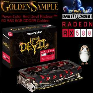 PowerColor RX 580 Red Devil 8GB GDDR5 Golden Radeon™