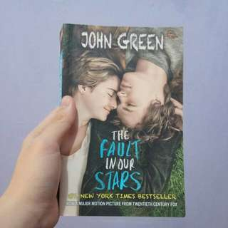 Buku The Fault In Our Stars (TFIOS) BARU MURAH!