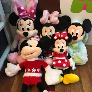 PINK Minnie Mouse StuffToys