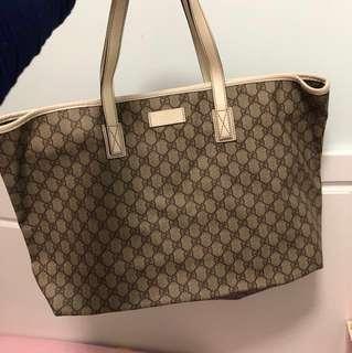 Gucci 大袋 手袋 Bag 奶粉袋
