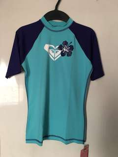 Authentic Roxy Rashguard 3/4 sleeves