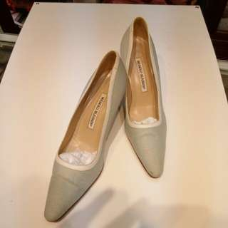 Manolo Blahnik Shoes size 37.5