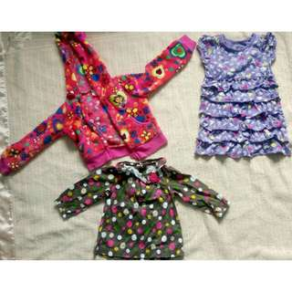Babies Jacket, Dress, Shirt