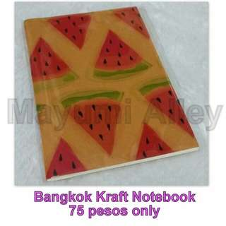 Bangkok Kraft Notebooks