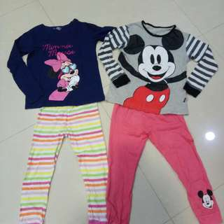 Baby Gap Girls Pyjamas