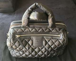 Chanel Cocoon Quilted Bag in Black