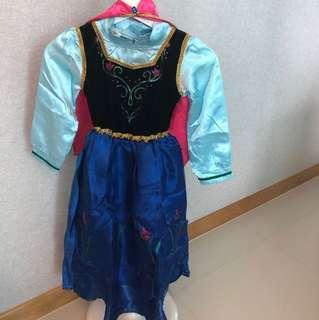 Disney frozen Anna Costume with Cape