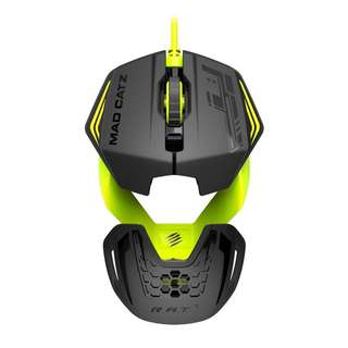 [CLEARANCE] Mad Catz R.A.T. 1 Wired Gaming Mouse – Green/Black (PC)