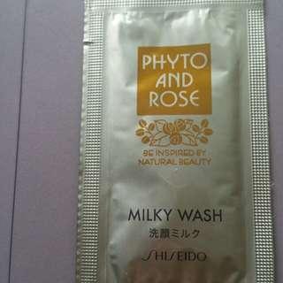 Shiseido Milky Wash Sample