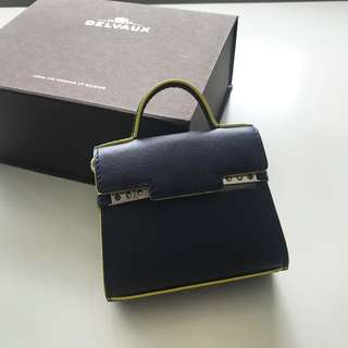 【Delvaux】Bag Charm TEMPETE BRAND NEW 手袋 掛飾