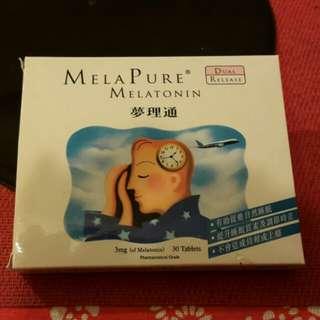 Mela Pure Melatonin 萝理通 (有效促進睡眠)