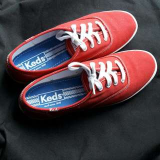 KEDS Champion Red Canvas