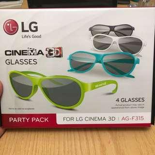LG CINEMA 3D GLASSES X4 AG-F315