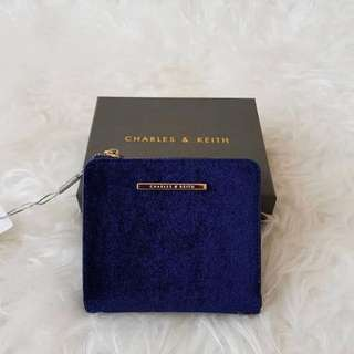 Original Charles & Keith Textured Square Waller