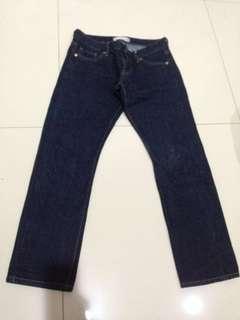 Uniqlo jeans pants used 2x