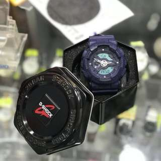 G-shock 藍色GA110HT
