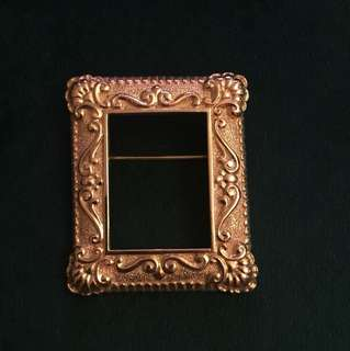 Givenchy Art Frame Brooch