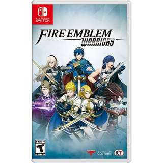 Fire Emblem Warrior Nintendo Switch