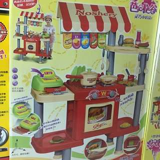 Burger kitchen set
