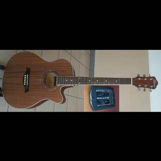 Guitar Acoustic Electric Faires 40Inch #4045E