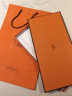 Hermes box & paper bag