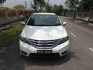 Honda City E Vtec 2012