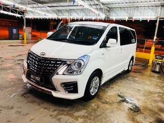 CAR RENTAL HYUNDAI STAREX NEW MPV( CHEAP RENT)