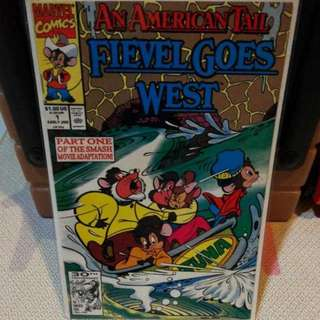 Marvel Comics An American Tail Fievel Goes West Issue 1