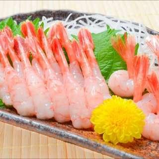 Amaebi (Japanese Raw Shrimp)