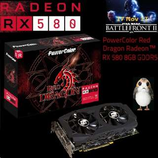 PowerColor RX 580 8GB Red Dragon GDDR5 Radeon™..