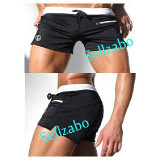 Mens Swimming Trunk Size XL Short Pants Black Colour Sellzabo Guys #S84