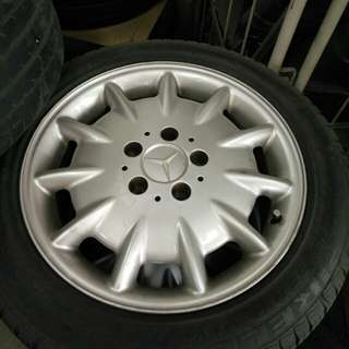 Mercedes original rims