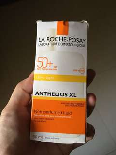ANTHELIOS XL SPF 50+ FLUID ULTRA-LIGHT Very high facial protection. Ultra UVA (PPD 42).