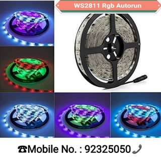 5050 Waterproof WS2811IC 5M Auto Run Dream Color Rgb Led (No Controller Needed)  For Enquiry pls msg or PM me at 92325050.