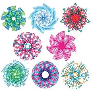 PREORDER! 22pcs Spirograph Drawing toys set Interlocking Gears & Wheels Drawing Accessories Creative Educational Toy For children