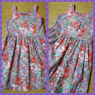 Just tees floral dress