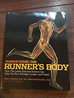 The runner's body