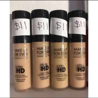 FLASH SALE Makeup forever ultra HD invisible cover foundation