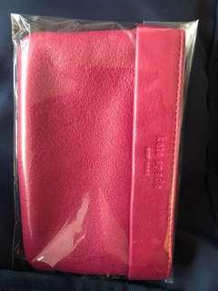 Kate spade 桃紅色銀包