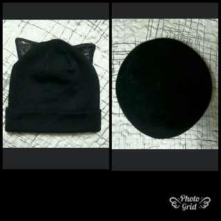 (清貨減價)全新泠帽 左$50右$30