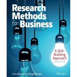 Research Methods For Business: A Skill Building Approach, 7th Edition eBook